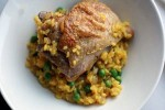 Chicken and saffron rice